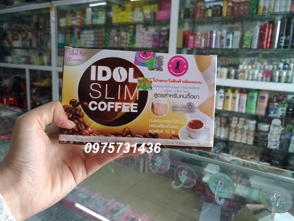 Bán buôn cà phê giảm cân Thái Lan Idol Slim giá tốt