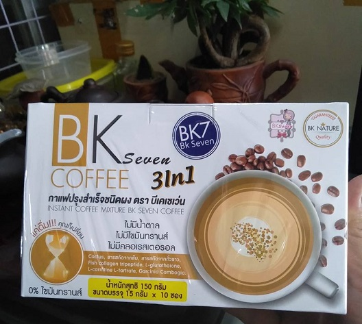 Cafe giảm cân Bk 7 chính hãng mua ở đâu