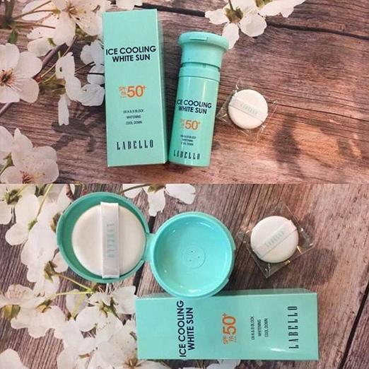 Kem chống nắng Ice Cooling Labello SPF50+ PA+++