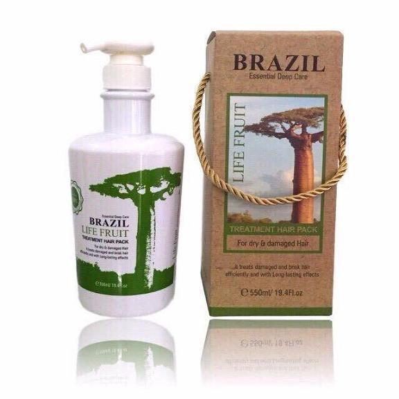 Dầu hấp tóc Keratin Brazil Life Fruit
