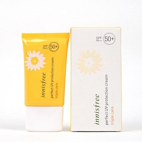 Kem chống nắng innisfree triple care 50ml SPF50+ PA+++