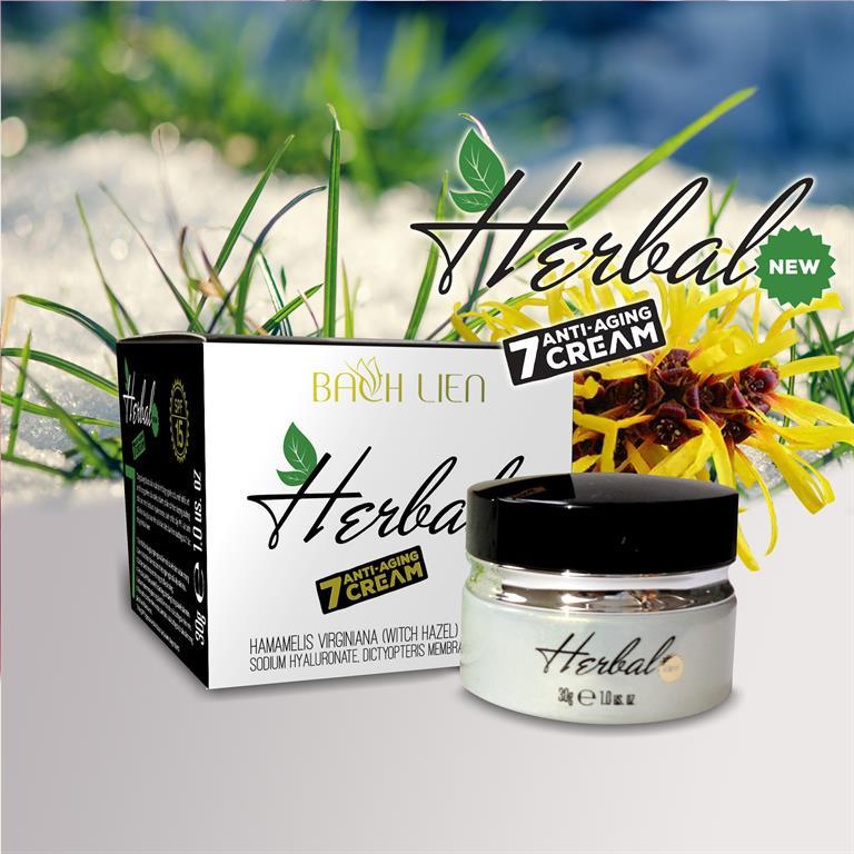 Kem dưỡng da Herbal Bạch Liên