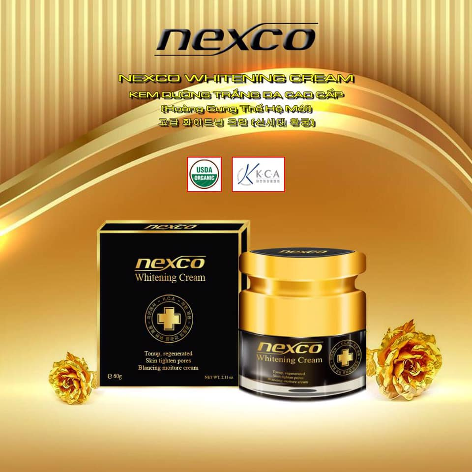 Kem dưỡng trắng Nexco Whitening Cream