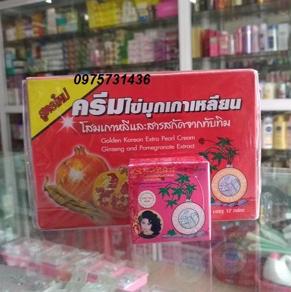 Kem sâm lựu đỏ Thái Lan