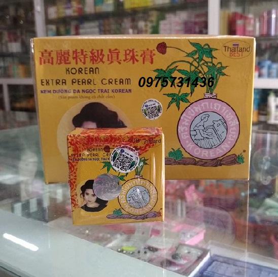 Kem sâm vàng Thái Lan