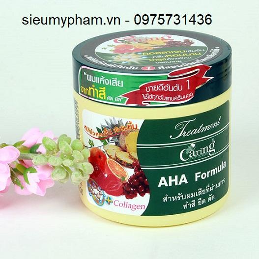 Kem ủ tóc hoa quả Caring Thái Lan