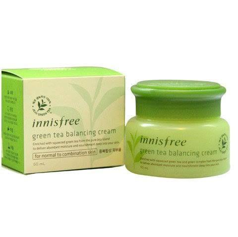 Kem dưỡng da trà xanh Innisfree Green Tea Balancing Cream