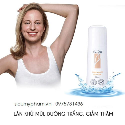 Lăn Scion Pure White Roll On Nuskin Hải Phòng