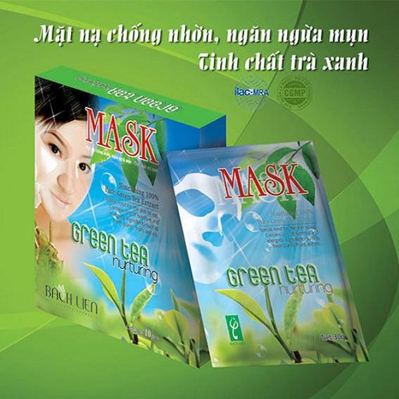 Mặt nạ ngừa mụn Green Tea