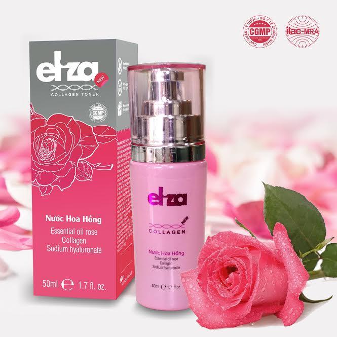 Nước hoa hồng collagen Eliza