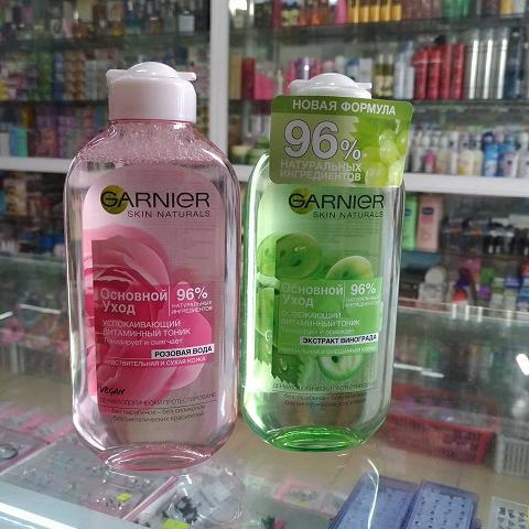 Nước hoa hồng Garnier Skin Naturals Nga