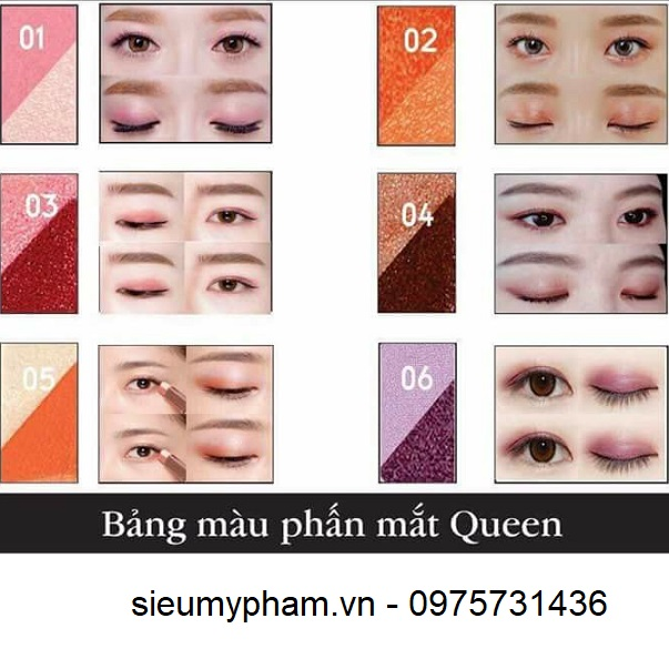 Phấn mắt Queen Eye Shadow