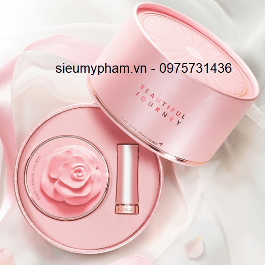 Phấn nước Ohui Ultimate Cover Cushion Moisture Beautiful Journey