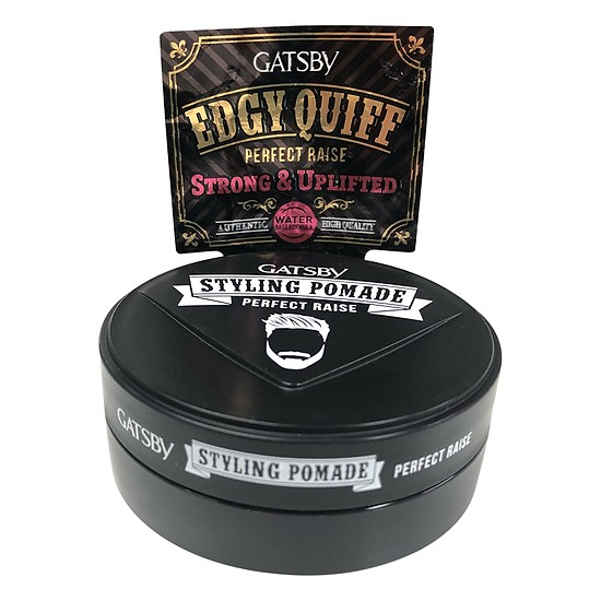Wax Vuốt Tóc Gatsby Pomade Perfect Raise