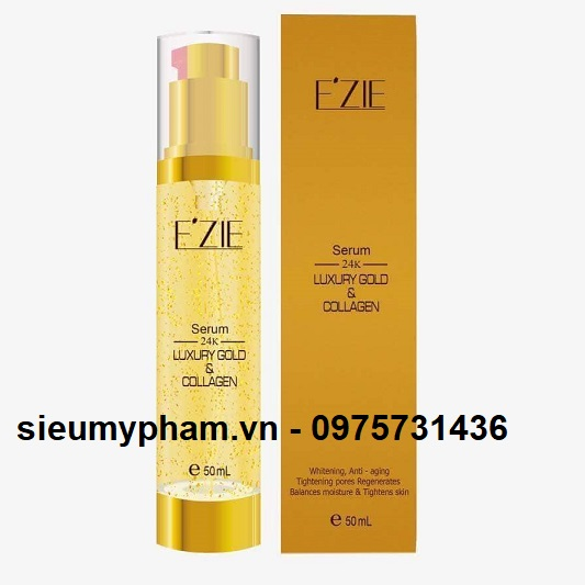 Serum Ezie tinh chất vàng 24k Luxury Gold & Collagen