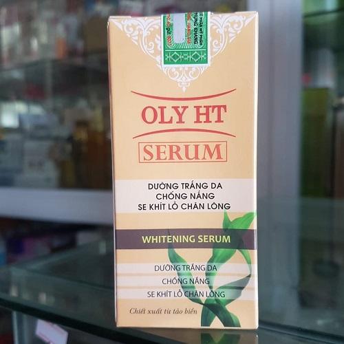 Serum dưỡng trắng se khít lỗ chân lông Oly HT
