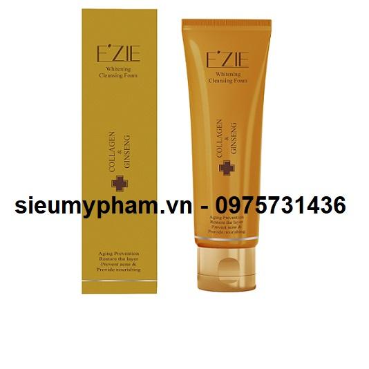 Sữa rửa mặt Ezie Collagen & Gensing Cleansing Foam