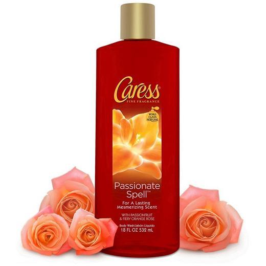 Sữa tắm Caress Mỹ Hương Hoa Hồng 532ml