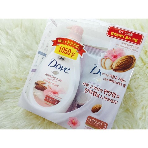 SỮA TẮM DOVE RELAXING CARE
