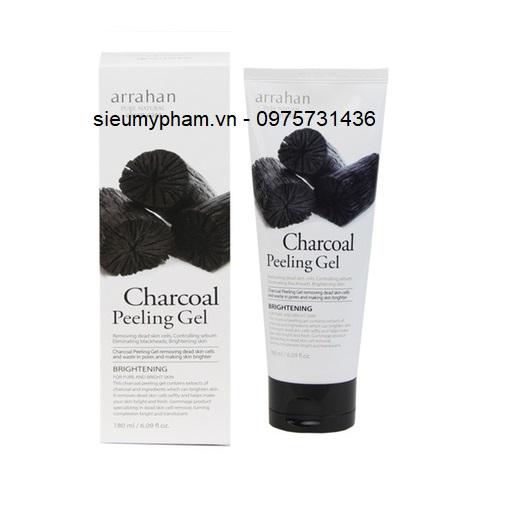Tẩy da chết Arrahan Charcoal Peeling Gel Hàn Quốc
