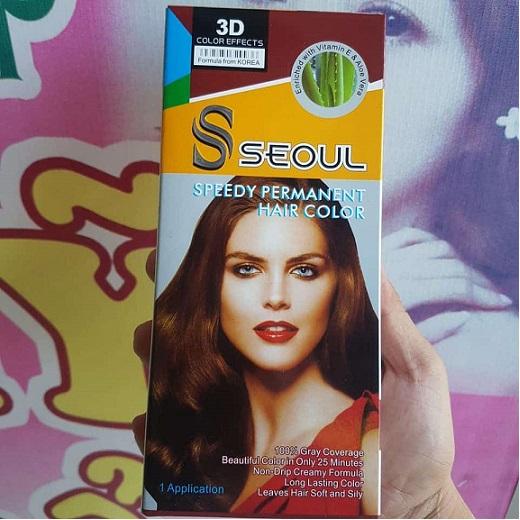 Thuốc nhuộm tóc 3D Seoul