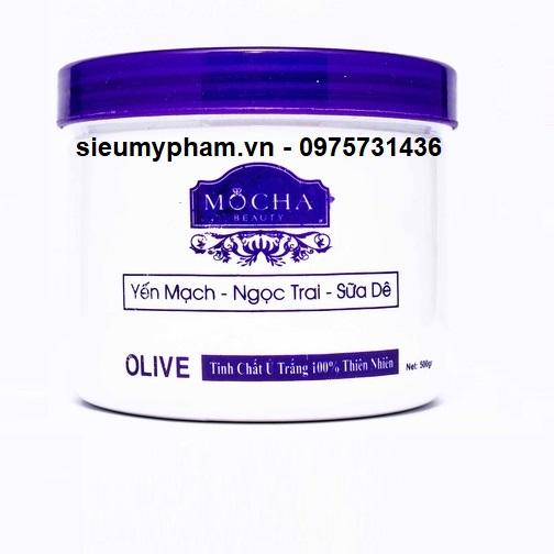Tinh chất ủ trắng tươi Mocha Yến Mạch - Ngọc Trai - Sữa Dê