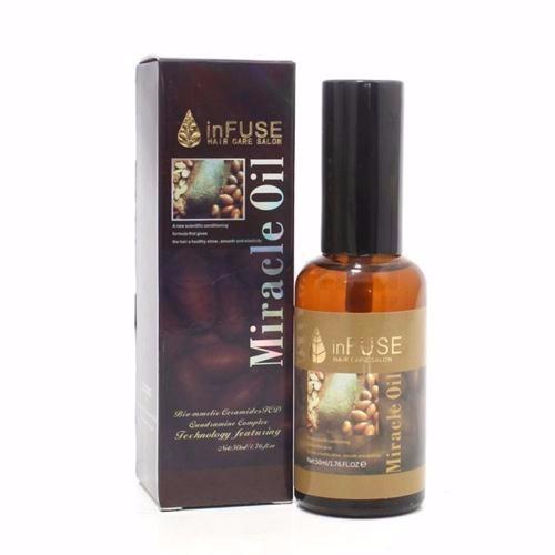 Tinh dầu dưỡng tóc Cà Phê  Infuse Miracle Oil