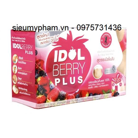 Trà giảm cân Idol Berry Plus Thái Lan