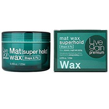 Wax vuốt tóc Livegain Premium Mat Hàn Quốc